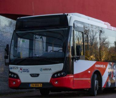 Dagkaart bus/trein Arriva